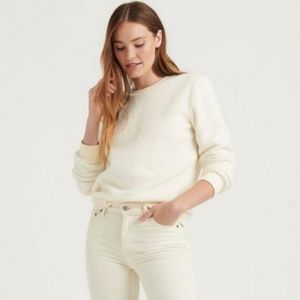 🆕️ LUCKY BRAND Sherpa Crewneck Pullover